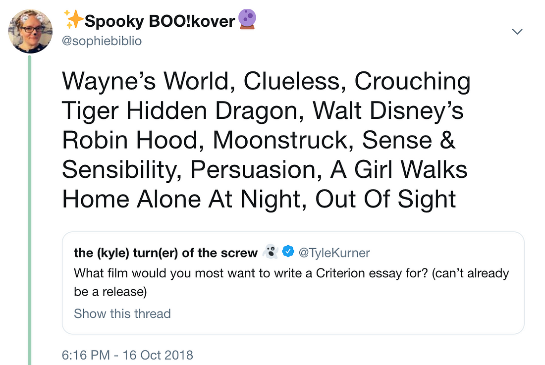 Our Personal Criterion Collection Dame Sophies Pick Like Dame Margaret Id Want To Use The Opportunity To  Write A Criterion Collection Essay Specifically To Add An Unjustly  Overlooked  English Essays Topics also Thesis Statements For Persuasive Essays  How To Write A Thesis Essay