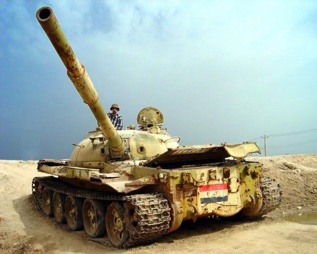 Me,_Iraqi_war_tank