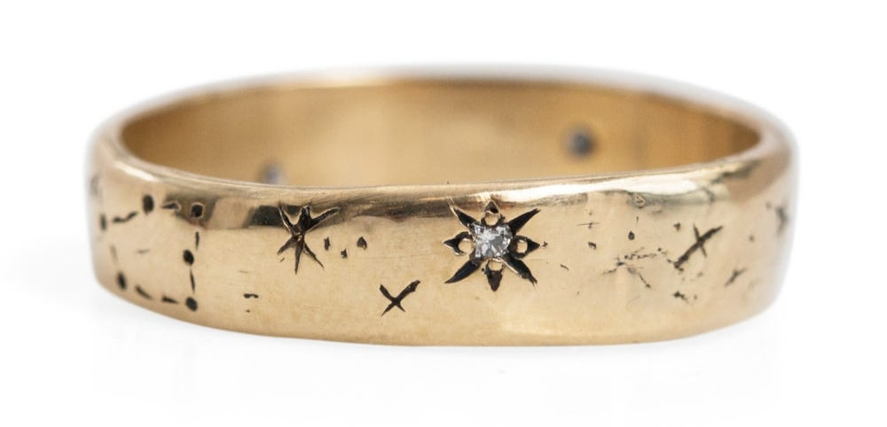 Then Someome Carved In Two Constellations Mine Would Be My Sun Gemini And Moon Aries Embedded With Diamonds Mommy Buy This For Me