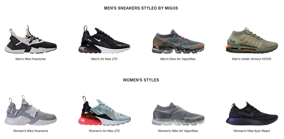 ... these sneakers are not limited releases. But depending on what Quavo d5d6c40031